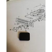 Afdekplaatje kachelventilatie bedieningspaneel 3210044-8 NOS Volvo 340, 360