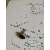 T-piece check valve windscreen washer hose headlight wipers 1342554-1 / 12559738 NEW Volvo 340, 360, 440, 460, 480