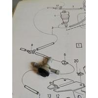 T-stukje keerklep ruitensproeierslang koplampwissers 1342554-1/12559738 NIEUW Volvo 340, 360, 440, 460, 480