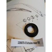 Nut wiper shaft 3206878 used Volvo 66, 343, 345, 340, 360