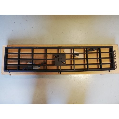 Radiator grille black 3297064-2 NOS Volvo 300 series