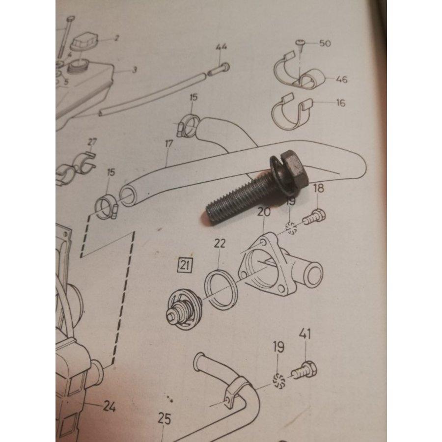Bout bevestiging thermostaathuis B172 motor 3287754-0 gebruikt Volvo 340