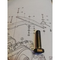 Bolt mounting suspension CVT transmission 940142-3 used Volvo 343, 345, 340