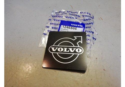 Logo plaatje embleem sticker grille 1246566 NIEUW Volvo 200, 300-serie