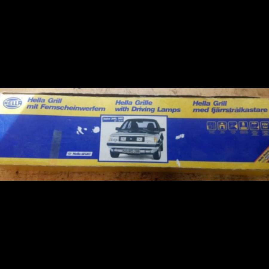 Grille met verstralers Hella 1FB-004-630-811 NOS Volvo 340, 360