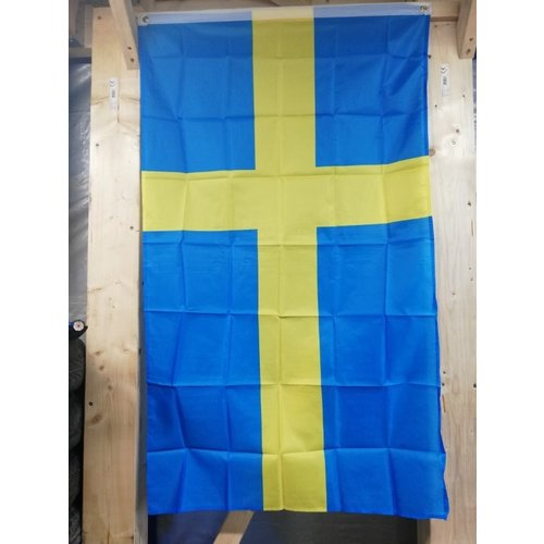 Swedish flag 90 x 150 cm gadget Volvo