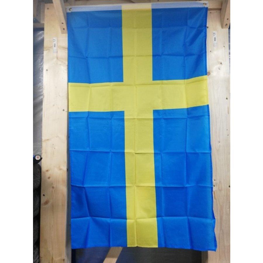 Swedish flag 90 x 150 cm gadget Volvo