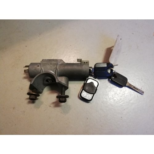Ignition lock with key and housing with 2 keys 3416991-2 uses Volvo 480