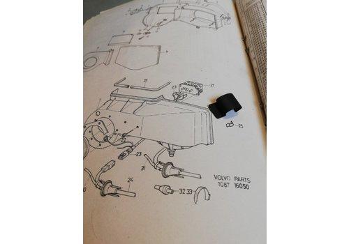 Clip klem kachelhuis luchtinlaat 3210079-4 NOS Volvo 340, 360