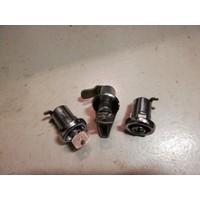 Slotenset portieren kofferbak achterklep 3266969-9 / 3266970-7 NOS DAF 66, Volvo 66