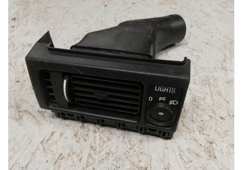 Ventilation grille LH light switch panel 1234533 used Volvo 240, 260