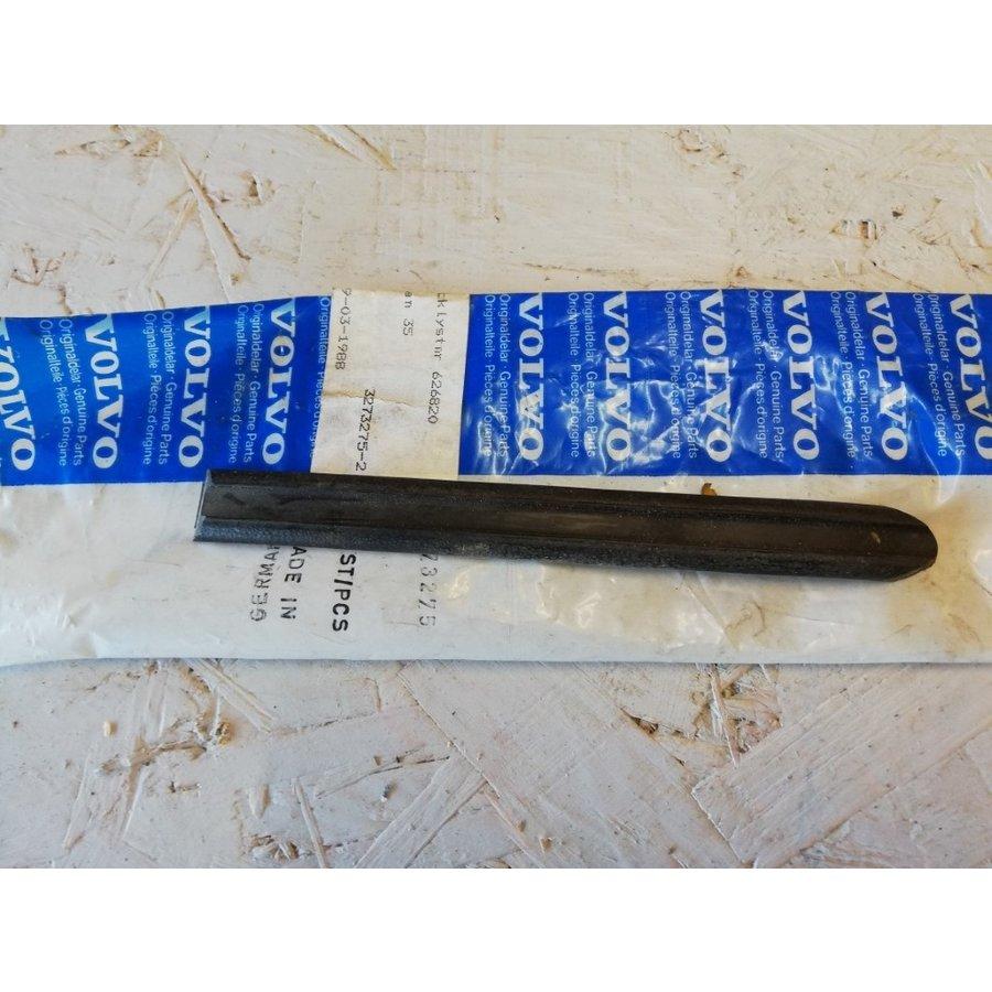 Sierlijst zwart, zwart/chrome voorscherm spatbord 3273274-5 NIEUW tot CH.387999 Volvo 343, 345