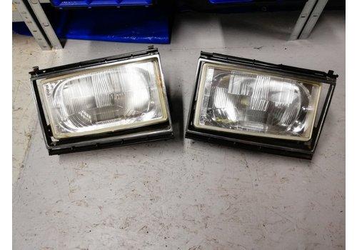 Headlight LH / RH Headlight LH / RH 1258202/1258203 used Volvo 240, 260 used Volvo 240, 260