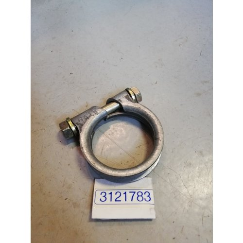Exhaust clamp with silencer D16 engine 3121783 NOS Volvo 340