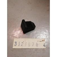 Clip, klem montage blokjesgrille 3121974 NOS Volvo 440 '92-'93, 460 tot '93