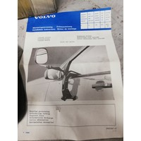 Caravanspiegel 3447816 NOS Volvo 440, 460, 480