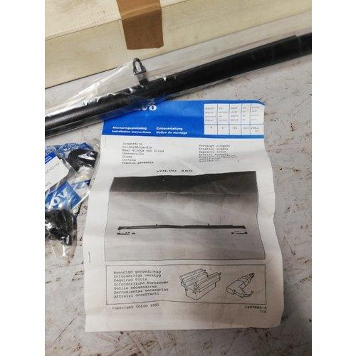 Rear window roller blind 3465160 original Volvo NOS Volvo 460