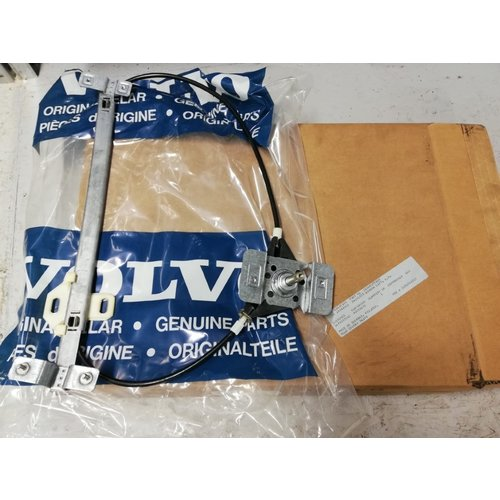 Window mechanism manual front door L / R 4/5 drs 3418073/3418074 NOS up to 1991 Volvo 440, 460