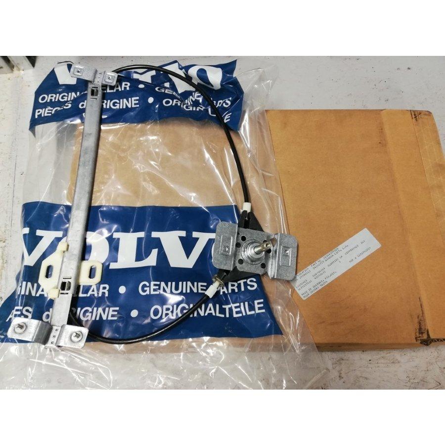 Raammechanisme handbediend voorportier L / R 4/5 drs 3418073/3418074 NOS tot 1991 Volvo 440, 460