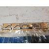 Volvo 440 Emblem '440GL' 3434944 NOS Volvo 440