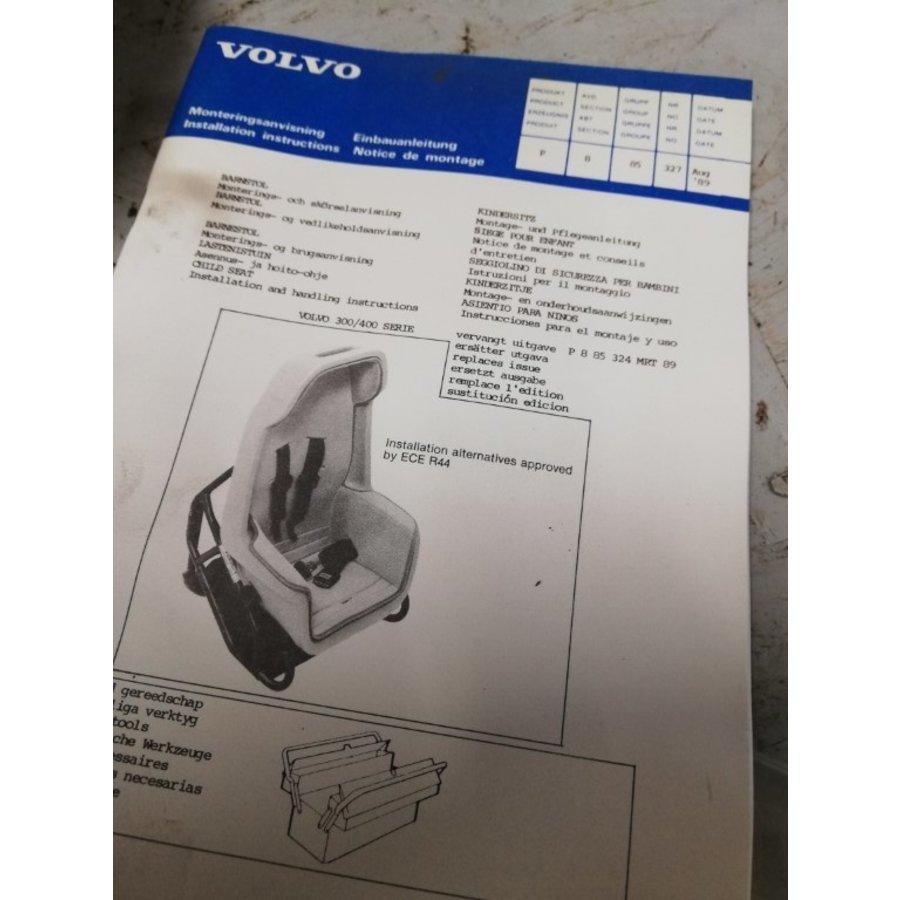 Montageset kinderzitje 3449548 NIEUW Volvo 300, 400 serie