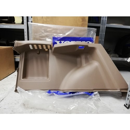 Interior panel trunk space RH beige / cream color 3418428 NOS Volvo 440, 460