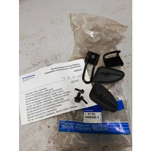 Child (safety) seat installation Safety kit, anti-theft 30808429 NOS Volvo S40, V40