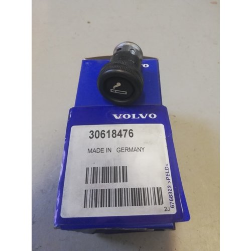 Cigarette lighter 30618476 NOS Volvo S40, V40