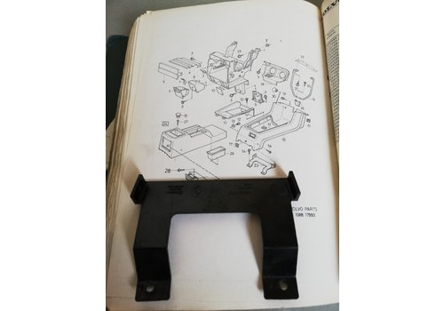 Support mounting bracket center tunnel console 3284709 uses Volvo 340, 360