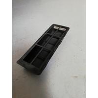 Air passage rubber insert grille c-pillar 3274481-5 NOS Volvo 343, 340, 360