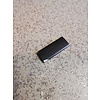 Connection clip decorative frame windscreen black 3207870-1 used from CH121000- Volvo 340, 360