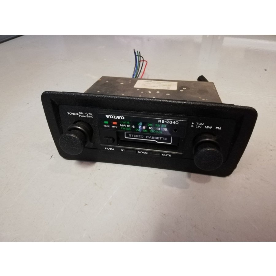 Classic Radio RS-2340 used Original Volvo 340, 360
