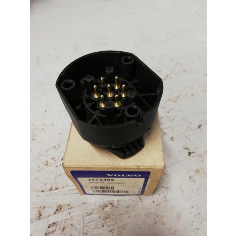 Trekhaakcontact 7-polig 3472485 NOS Volvo 440, 460