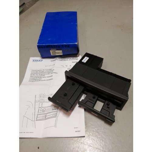 Cassette storage compartment 30883660-0 NOS Volvo S40, V40