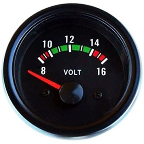 Voltmeter voor instrumentenpaneel NIEUW Universeel Volvo 66, 100, 200, 300, 700 en 900 series