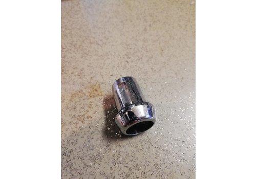 Ring om cilinderslot knop chrome 1213269 NOS Volvo 140, 240, 260