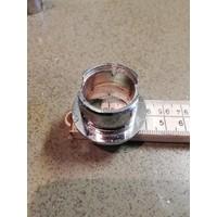 Schakelaar knop ring chrome NOS Volvo 100, 200, Amazon