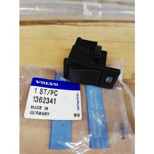 Rear window heater switch (timer) 1362341 NOS Volvo 240, 260, 740, 760, 780, 940, 940SE, 960 series