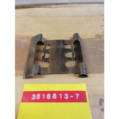 Spacer mounting plate brake pads, brake caliper front 3516813 NOS Volvo 740, 760, 780, 940 series