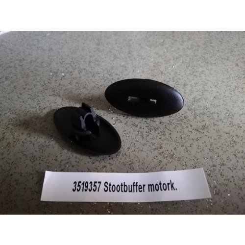 Impact buffer clip bonnet 3519357 NOS Volvo 740, 760, 850, 940, 960, S90, V90
