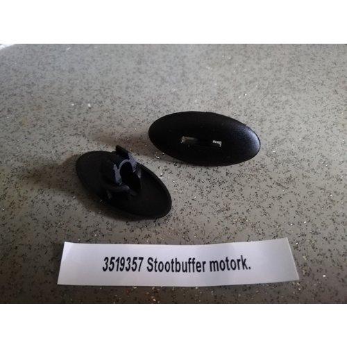 Stootbuffer clip motorkap 3519357 NOS Volvo 740, 760, 850, 940, 960, S90, V90
