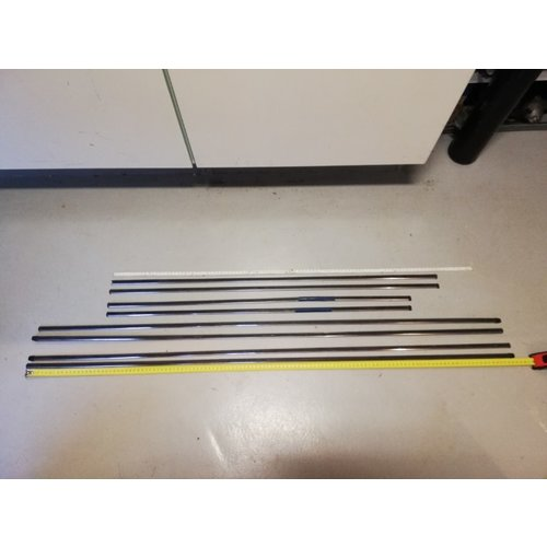 Bumpers set body molding set uses Volvo 240, 260