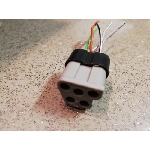 Kabelschoen stekkerblok 1363524 gebruikt Volvo 200, 300, 700, 900-serie