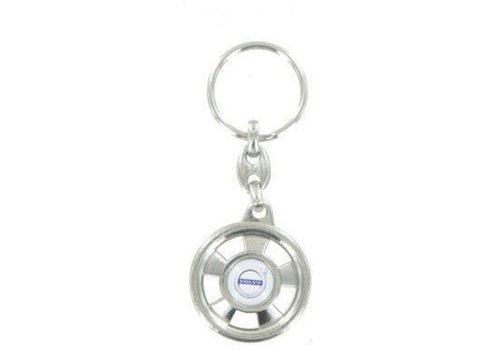 Volvo keychain with Volvo logo NEW