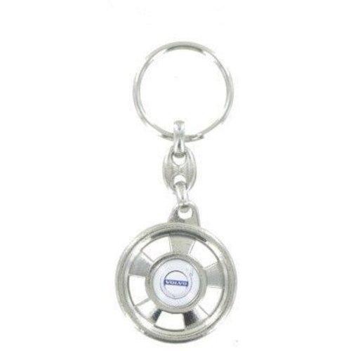 Volvo keychain with Volvo logo NEW