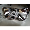 Volvo 340/360 Headlight reflector RHD 3287138/3287139 * CHROMED AGAIN * Volvo 340, 360