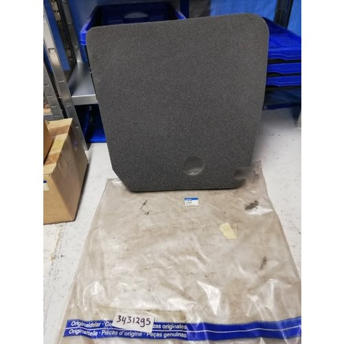 Bonnet insulation mat RH 3431295 NOS to CH.293990 Volvo 440, 460