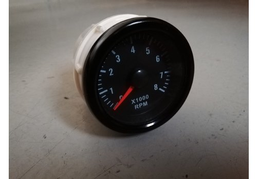 Tachometer RPM for instrument panel NEW Universal Volvo 66, 100, 200, 300, 700 and 900 series