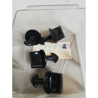 Clip cover fuse box black 1224833 NOS Volvo 240, 260