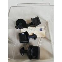 Clip deksel zekeringkast zwart 1224833 NOS Volvo 240, 260